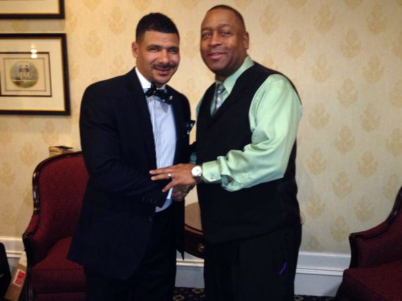 Delaware Devoted Dads Summit 2013 - Dr. Steve Perry and Darrell V. Freeman