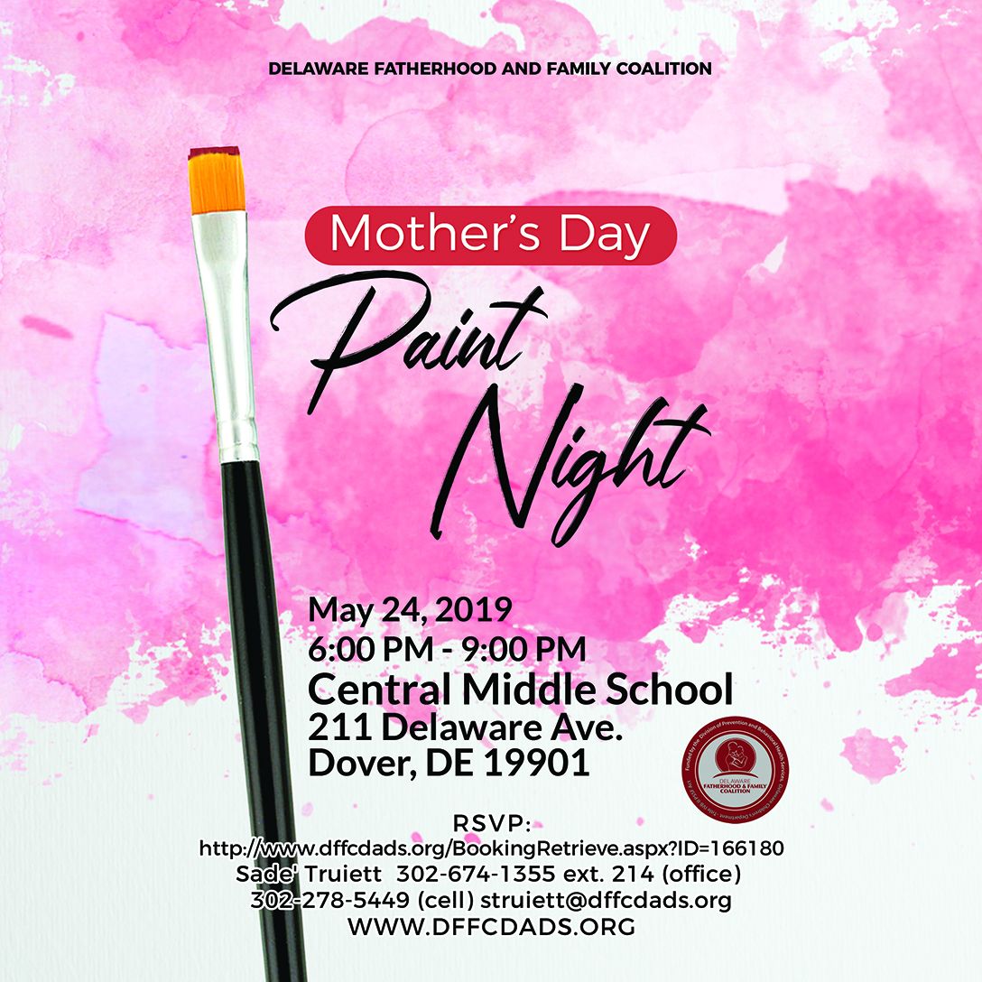 Kent County Mother's Day Paint Night
