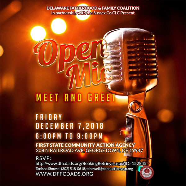 Sussex County Open Mic Night