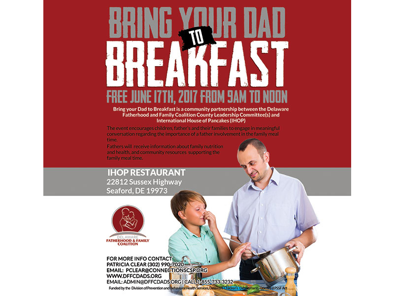 Bring Dad to Breakfast